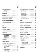 List of Transportation Books Placed in the Kansas City University Libraries