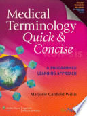 Medical Terminology Quick & Concise/ Stedman's Medical Dictionary for the Health Professions and Nursing,