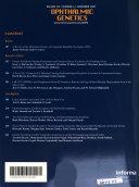 Ophthalmic Genetics Book PDF