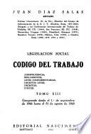 Legislacion social: codigo del trabajo