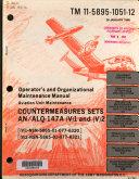 Operator's and organizational maintenance manual, aviation unit maintenance