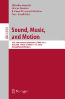 Sound, Music, and Motion