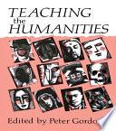 Teaching the Humanities Book
