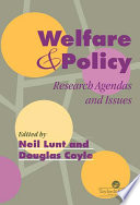 Welfare And Policy
