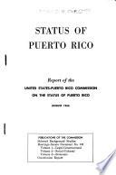 Status Of Puerto Rico