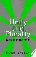 Unity and Plurality