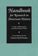 Handbook for Research in American History