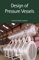 Design of Pressure Vessels