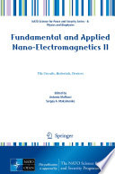 Fundamental and Applied Nano-Electromagnetics II