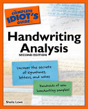 The Complete Idiot S Guide To Handwriting Analysis Book PDF