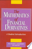 The Mathematics of Financial Derivatives Book