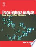 Trace Evidence Analysis