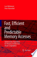 Fast Efficient And Predictable Memory Accesses Book PDF