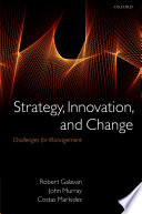 Strategy Innovation And Change Book PDF