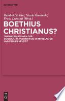 Boethius Christianus?