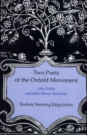 Pdf Two Poets of the Oxford Movement