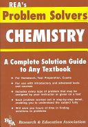 the chemistry problem solver research and education association the chemistry problem solver