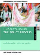 Understanding the policy process (Second edition)
