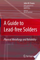 A Guide To Lead Free Solders