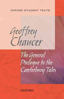 Oxford Student Texts  Chaucer  The General Prologue to the Canterbury Tales
