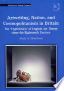 Artwriting Nation And Cosmopolitanism In Britain