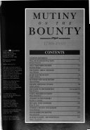 Mutiny on the Bounty, 1789-1989 Pdf/ePub eBook