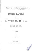 Public Papers of Governor