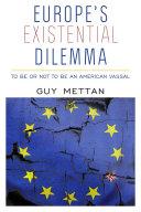Europe's Existential Dilemma Pdf/ePub eBook