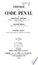 Théorie du Code pénal