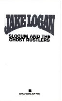 Slocum and the Ghost Rustlers