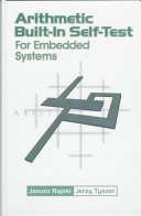 Arithmetic Built in Self test for Embedded Systems Book
