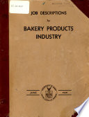 Job Descriptions for Bakery Products
