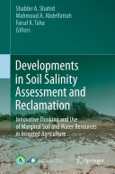 Pdf Developments in Soil Salinity Assessment and Reclamation