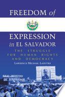 Freedom of Expression in El Salvador