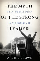 Pdf The Myth of the Strong Leader