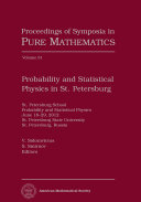 Probability and Statistical Physics in St  Petersburg