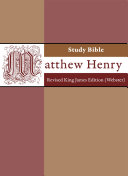 Matthew Henry Study Bible - Revised King James Version