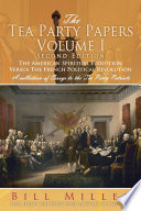 The Tea Party Papers Volume I Second Edition Book PDF