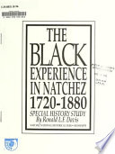 Black Experience in Natchez