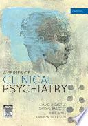A Primer Of Clinical Psychiatry Book PDF