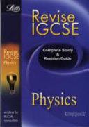 Revise IGCSE Physics