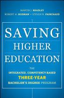 Saving Higher Education