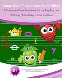 Funny Blank Music Sheets for Children