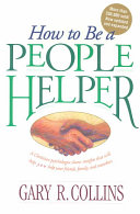 How to Be a People Helper Book