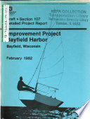 Bayfield Harbor Improvement Project, Draft Detailed Project Report