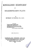 English History in Shakespeare s Plays