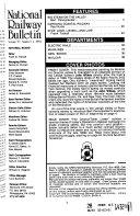 National Railway Bulletin