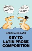 Key to Latin Prose Composition