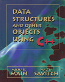 Cover of Data Structures & Other Objects Using C++