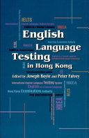 English Language Testing in Hong Kong